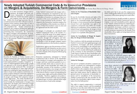 Newly.Adopted.Turkish.Commercial.Code.Its.Innovative.Provisions.on.Mergers.Acquisitions.De-Mergers.Form.Conversions
